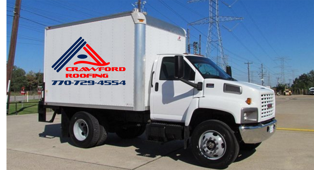Crawford Roofing Truck
